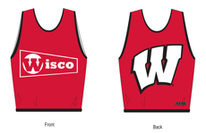 University of Wisconsin Sailing Pinnie